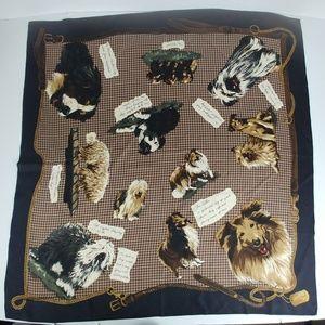 Vintage Ralph Lauren Silk Scarf